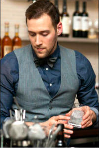 hire a cocktail bartender Manchester