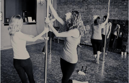 hen party pole dancing classes Liverpool