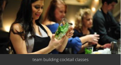 team building cocktail making classes London