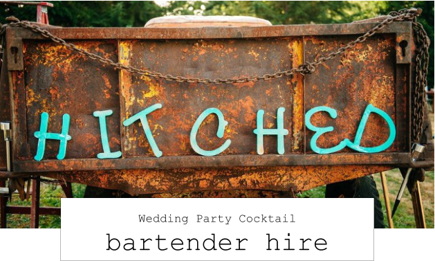 wedding party bartender hire